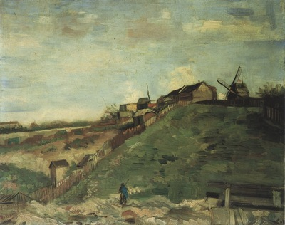 montmartre quarry, the mills, paris