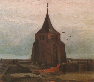 old churchs tower in nuenen