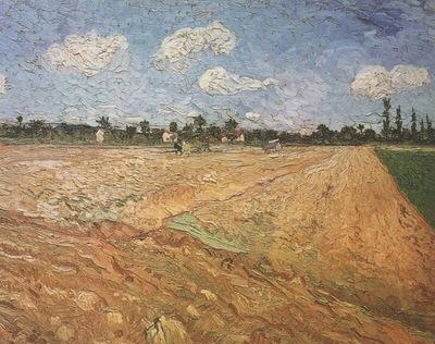 plowed field, arles
