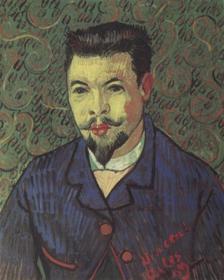portrait of doctor felix rey, arles