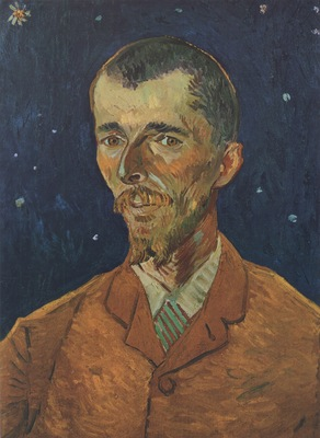portrait of eugene boch, arles