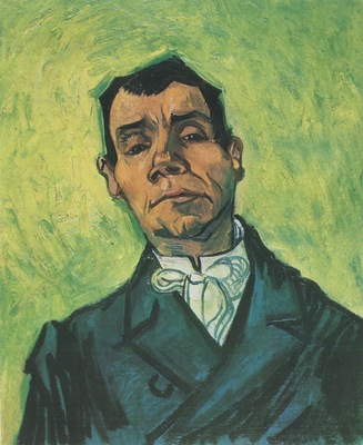 portrait of a man, arles