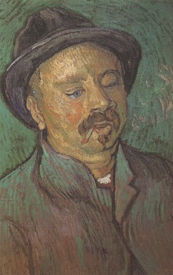 portrait of a one eyed man, arles