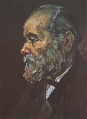 portrait of an old man with beard, nuenen
