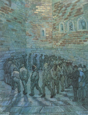 prisoners making exercise as dore , saint remy