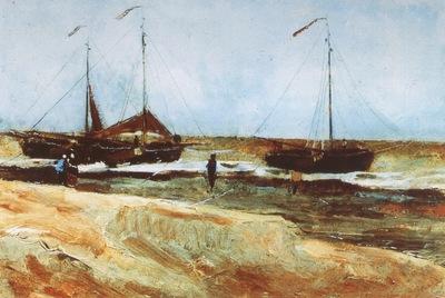 scheveningens beach, calm weather