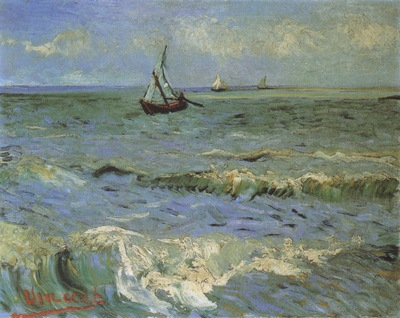 seascape at saintes maries, arles