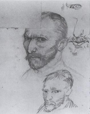 self portrait and several details, paris