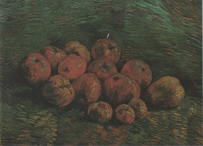 still life with apples, paris