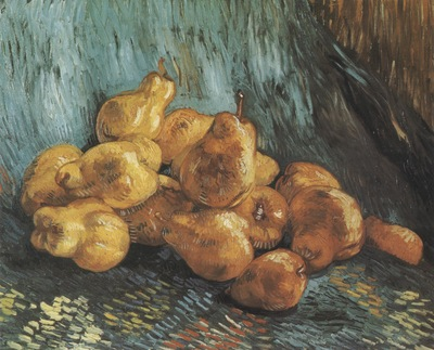 still life with pears, paris