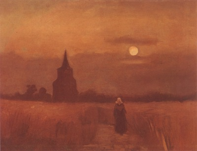 the old tower in the fields, nuenen