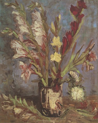 vase with gladioli, paris