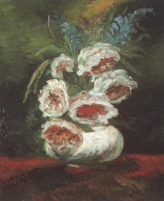 vase with peony, paris