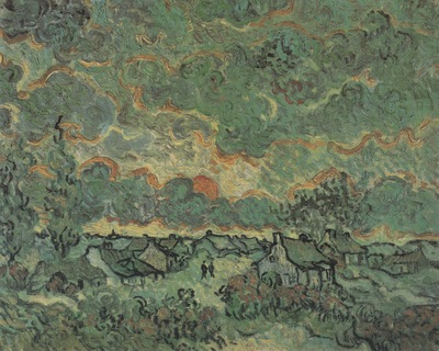 villas and cypresses, saint remy
