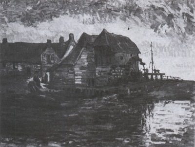 watermill in gennep, nuenen