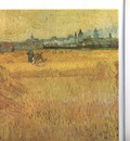 b  vista field of wheat at arles, arles
