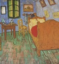 the vincents bedroom in arles, saint remy