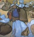 breton women by emile bernard , arles