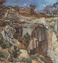 entrance to a quarry, saint remy