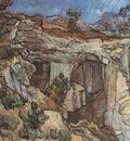 entrance to a quarry, saint remy
