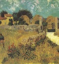 farm house in provence, arles
