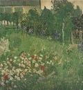 garden of daubigny, auvers sur oise