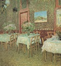 interior of a restaurant, paris