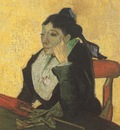 larlesienne madame ginoux with gloves and umbrella, arles