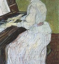 marquerite gachet at the piano, auvers sur oise