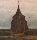 old churchs tower in nuenen