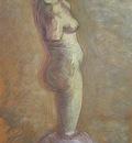 plaster statue of female, nuenen