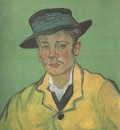 portrait of armand roulin, arles