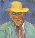 portrait of patience escalier, shepherd in provence, arles