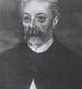 portrait of a man with moustache, paris 1886