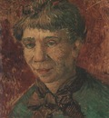portrait of a woman, paris 1886