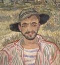 portrait of a young peasant, saint remy