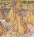 sheaves of wheat, auvers sur oise