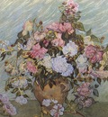 still life vase with roses, saint remy
