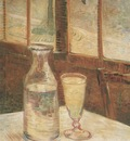 still life with absinthe, paris