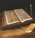 still life with bible, nuenen