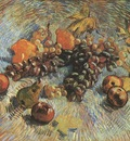 still life with grapes, apples, pear and lemons, paris