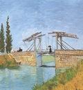 the langlois bridge at arles, arles