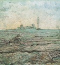 the plough and harrow tillage as millet , saint remy