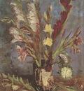 vase with gladioli, paris