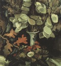 vase with lunaria, nuenen