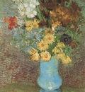 vase with marigolds and anemones, paris
