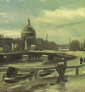 view of amsterdam from central station, nuenen