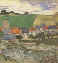 view of auvers, auvers sur oise