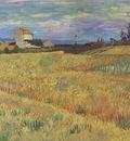 wheatfield, arles