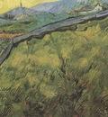 wheatfield primaverial at down, saint remy